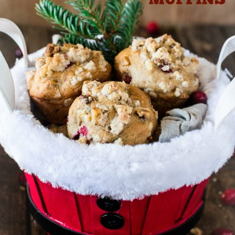 Guilt-Free Christmas Morning Muffins