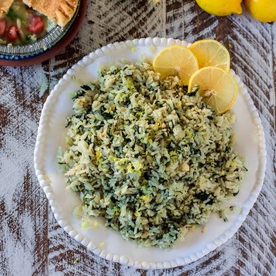 Olivia S Cuisine: Spanakorizo (Greek Spinach Rice)