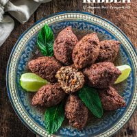 Kibbeh (Lebanese Beef Croquettes)