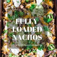 Fully Loaded Nachos