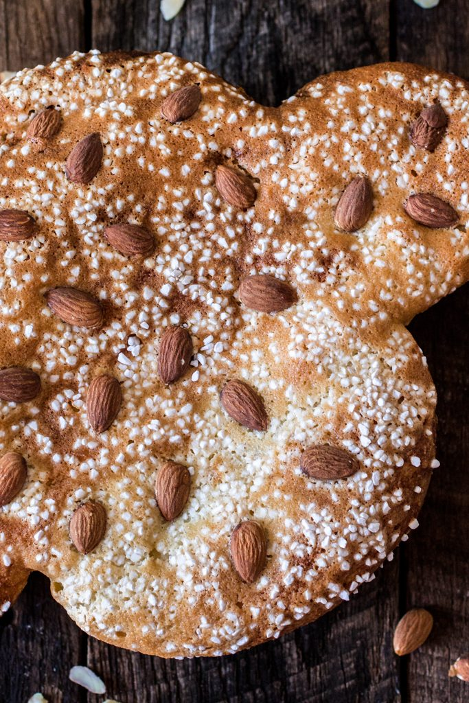 Easter Dove Bread (Colomba Pasquale)   www.oliviascuisine.com   This classic Italian sweet bread is a must at my Easter table. Traditionally filled with candied and dried fruit, this delicious sweet bread is great for brunch or dessert, accompanied by some Mascarpone cheese and honey. #sp #BRMEaster #CleverGirls