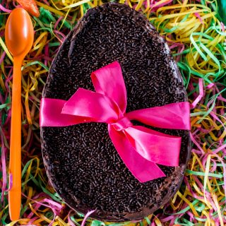 Easter Chocolate Egg (filled with Brigadeiro)