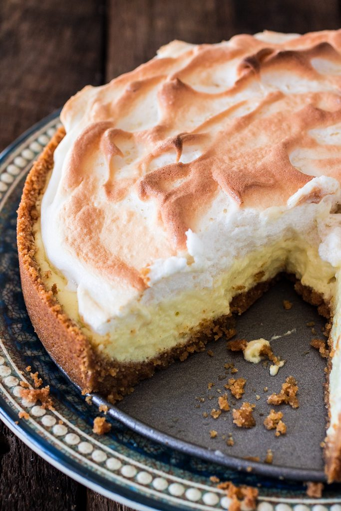Easy Key Lime Pie | www.oliviascuisine.com | A perfectly sweet and tart dessert that originated in Key West. Super easy and a crowd pleaser! #sponsored