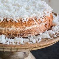 Brazilian Moist Coconut Cake