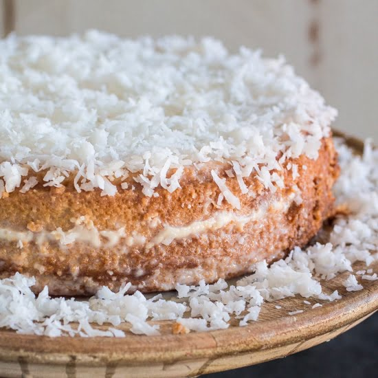 Brazilian Chocolate Coconut Cake Recipe