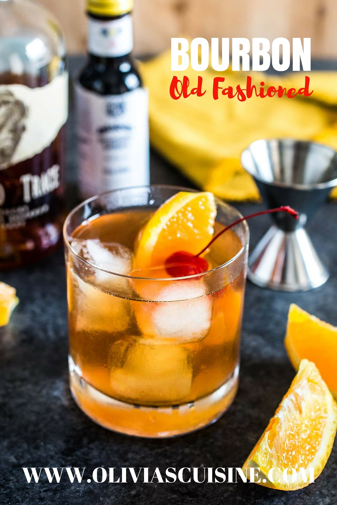 Bourbon Old Fashioned Www Oliviascuisine A Clic Tail Made With