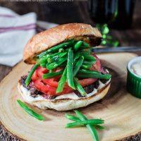 Chacarero (Chilean Steak Sandwich)