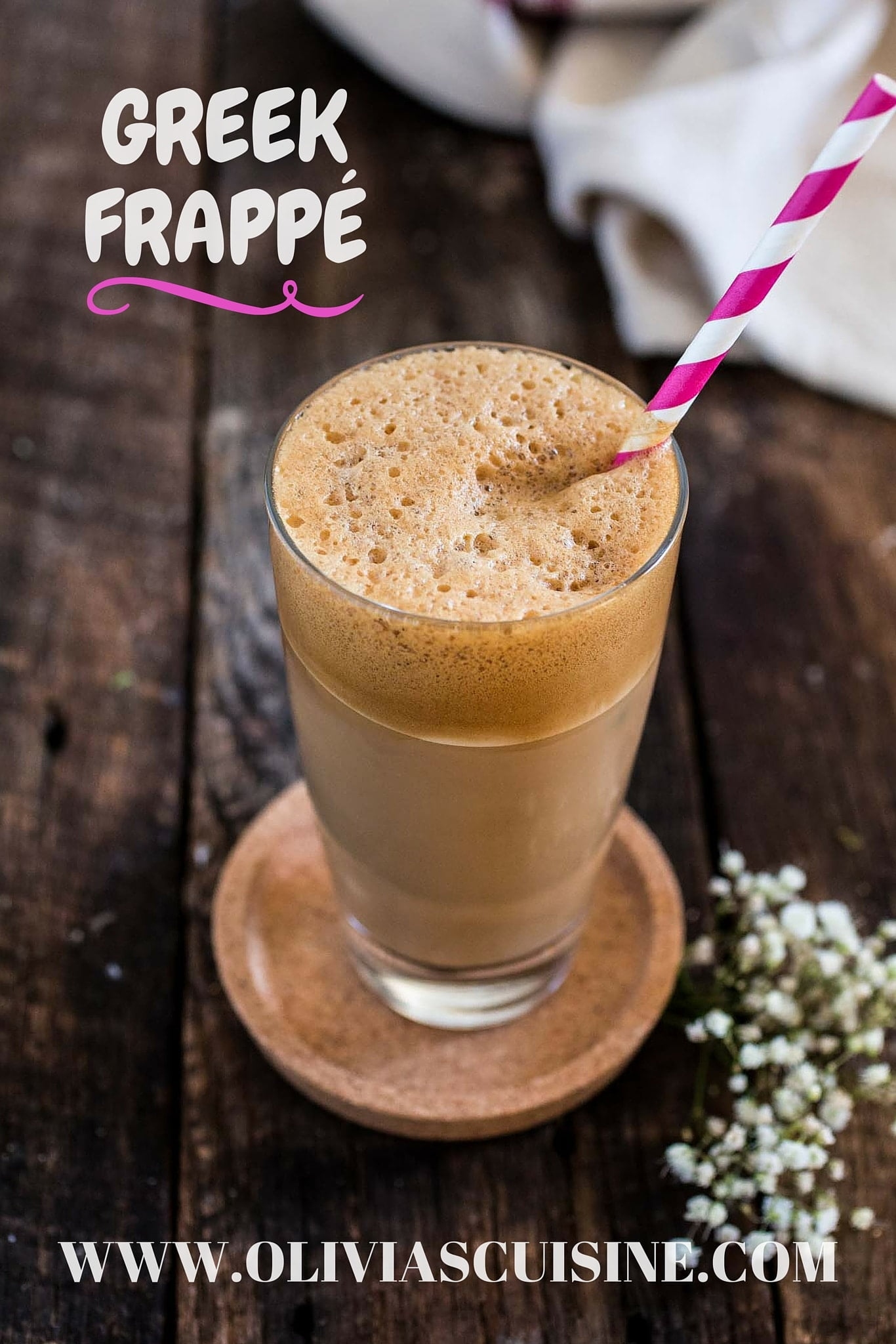 Cafe Frappe Greek Recipe