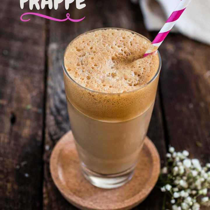 Greek Frappe | www.oliviascuisine.com | The hallmark of outdoor Greek coffee culture, the Frappe is a great caffeinated call for those hot summer days! ☀️ (In partnership with NESCAFÉ.)