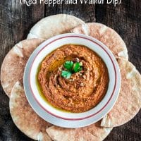 Muhammara (Red Pepper and Walnut Dip)