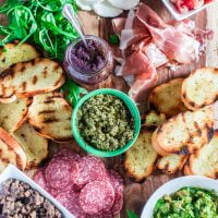 Build Your Own Bruschetta Bar