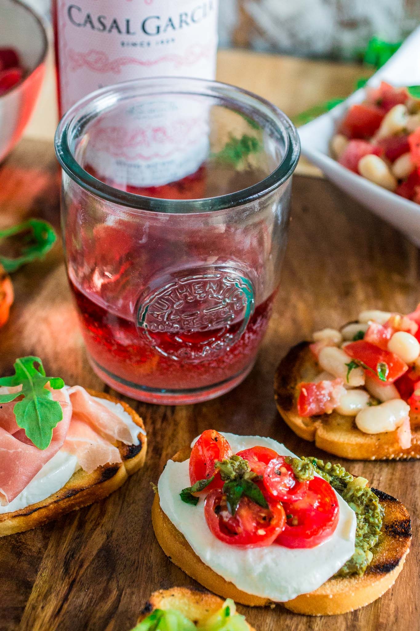Build Your Own Bruschetta Bar   www.oliviascuisine.com   A step by step tutorial so you can set up a beautiful and fun bruschetta station for your next party!
