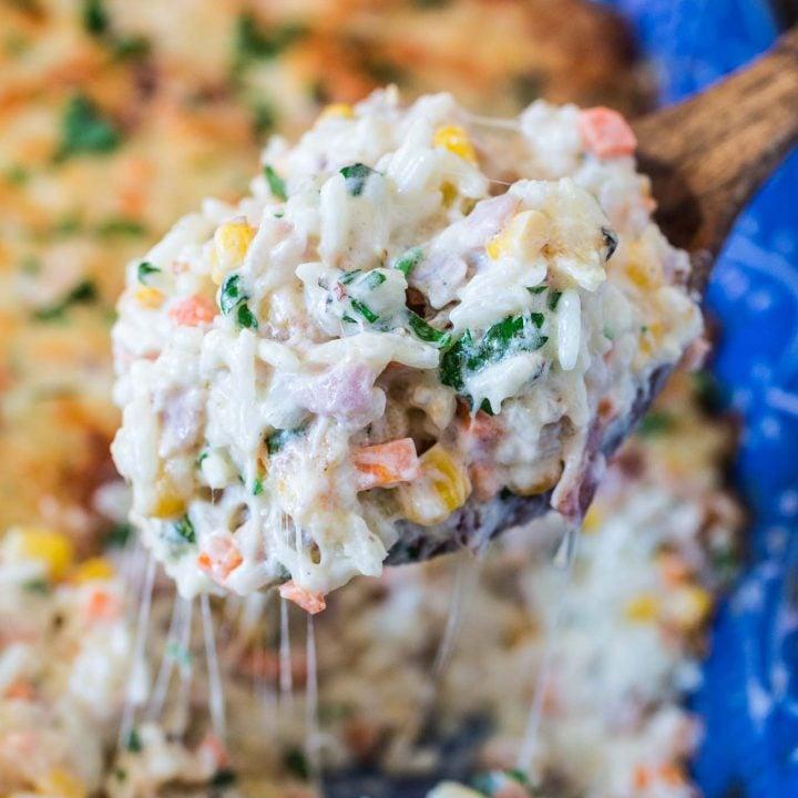 Brazilian Creamy Rice Casserole | www.oliviascuisine.com |