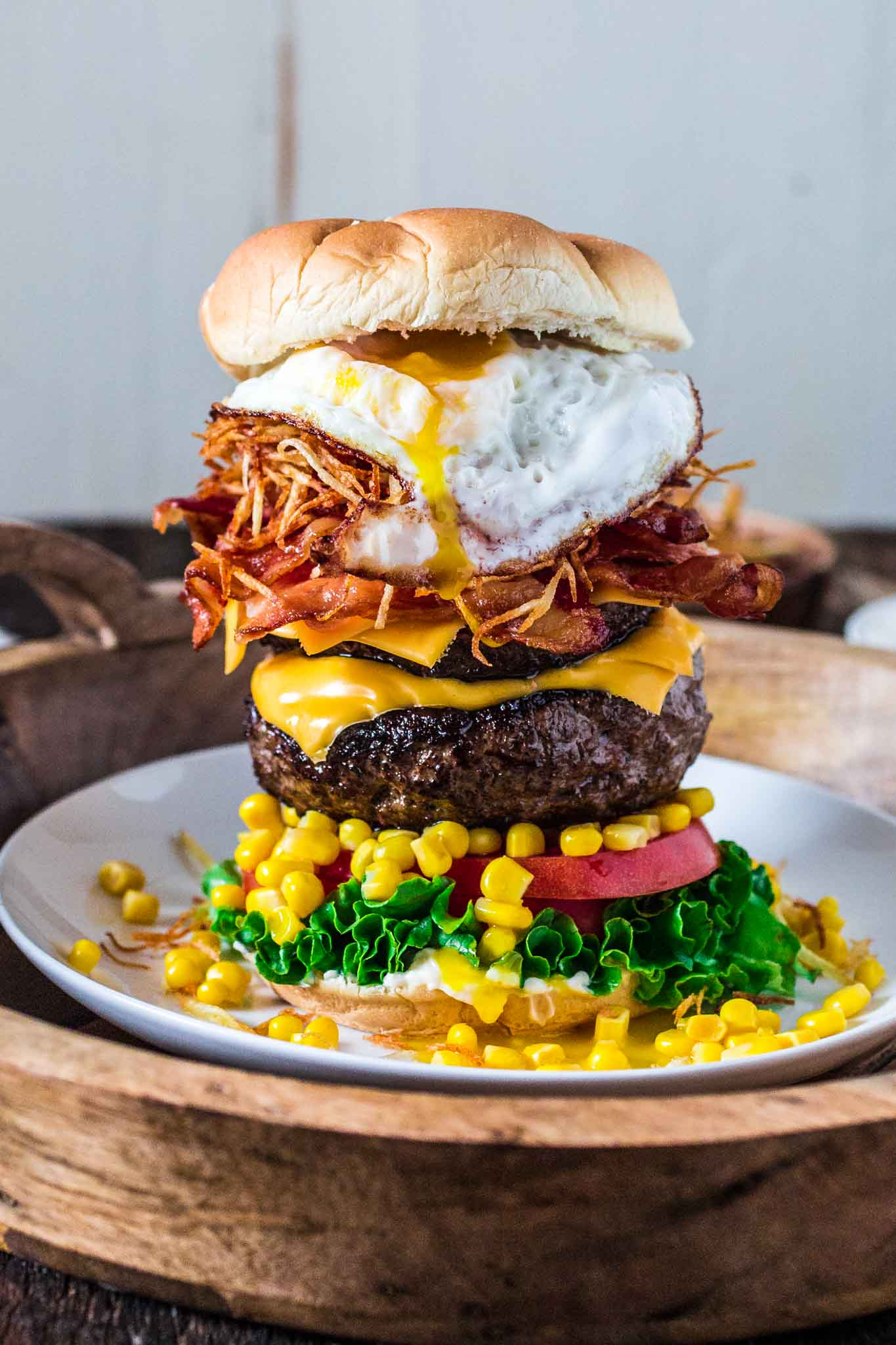 Brazilian Epic Burger with Egg - Olivia's Cuisine