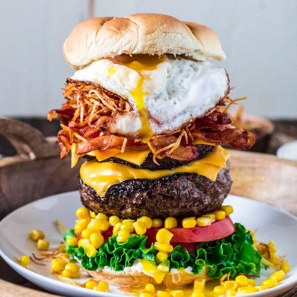 Olivia S Cuisine: Brazilian Epic Burger With Egg