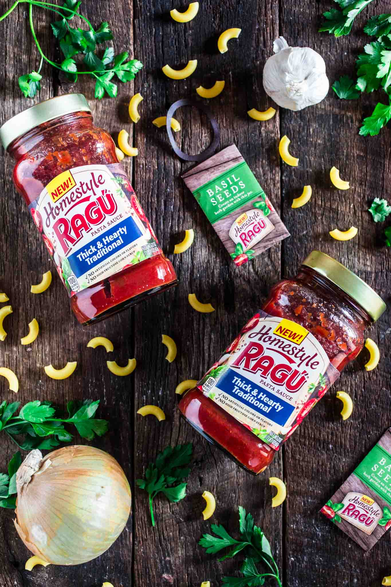 Ragu Homestyle Thick & Hearty Traditional Sauce
