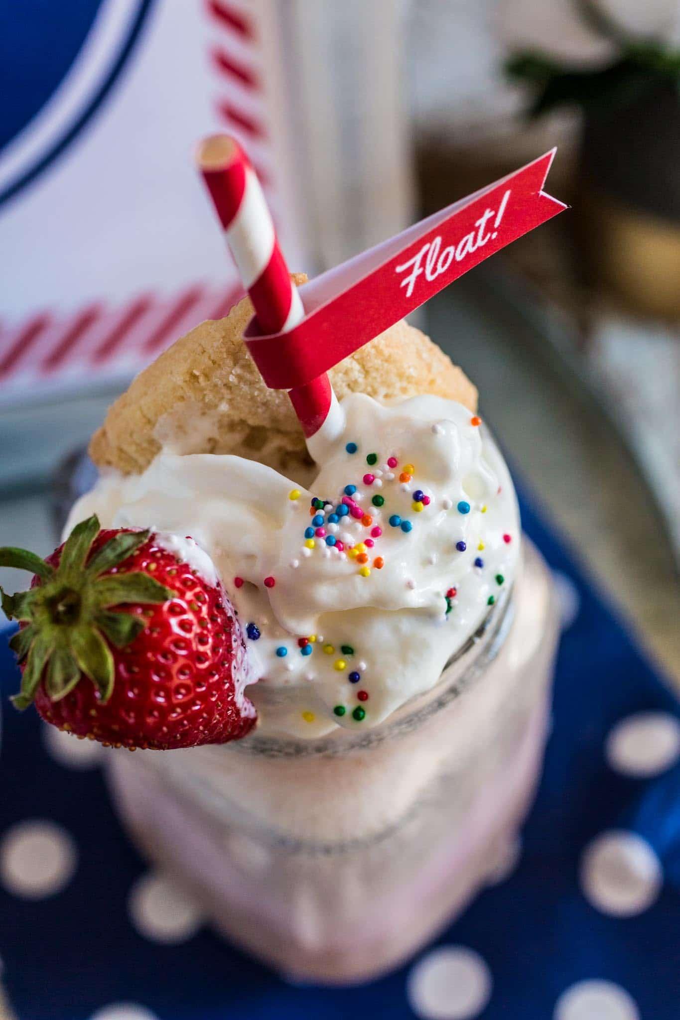 Ice Cream Float Bar Olivia S Cuisine
