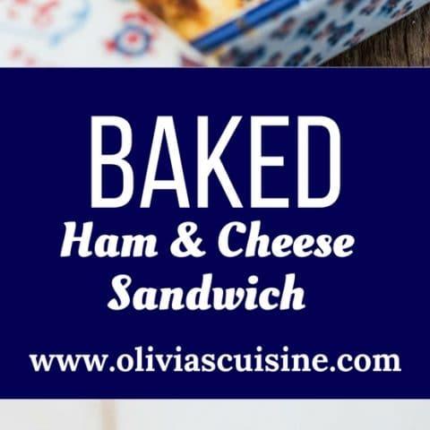 Brazilian Baked Ham and Cheese Sandwich (Bauru de Forno)