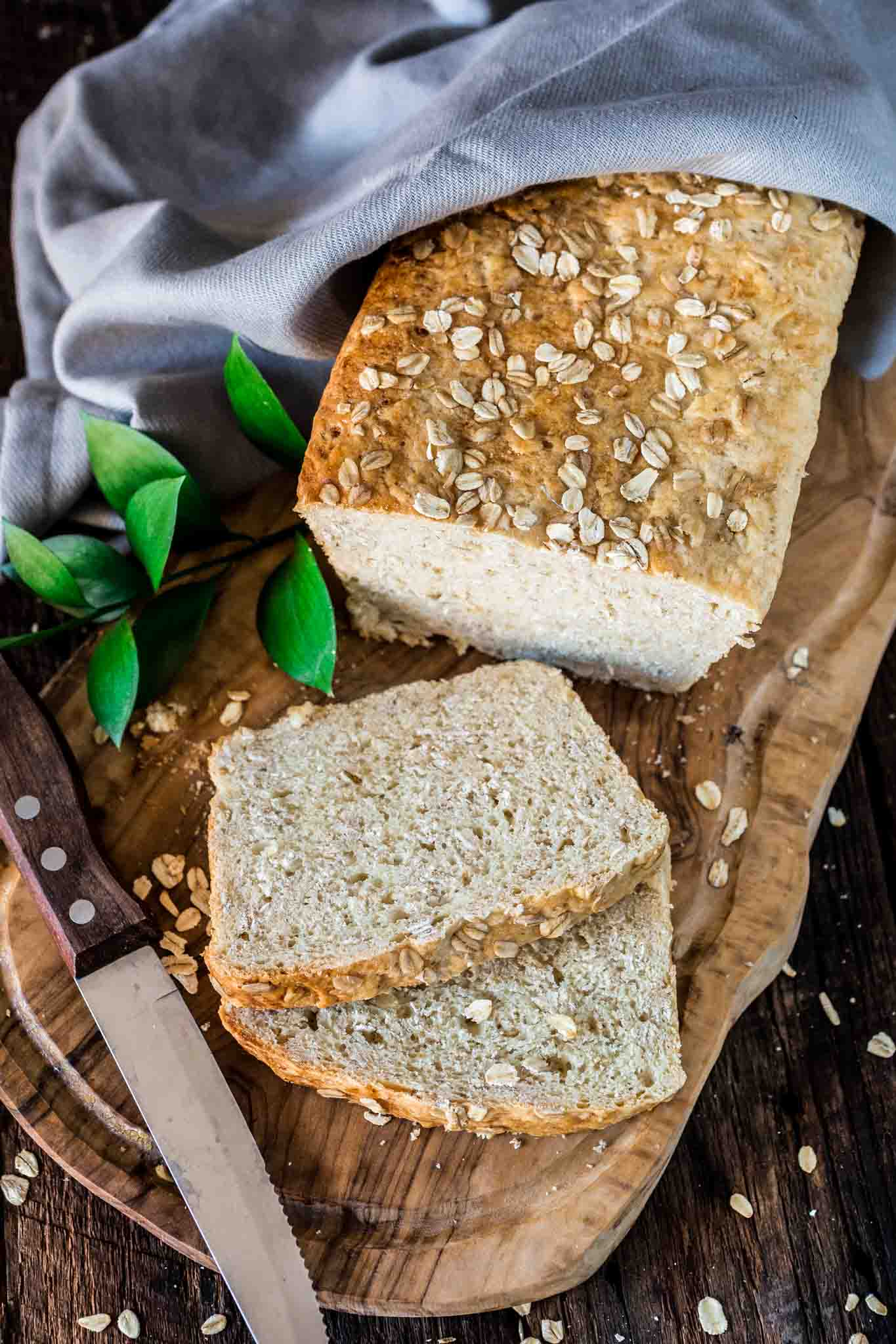 Honey Oat Bread | www.oliviascuisine.com | There's nothing better than a loaf of fresh Honey Oat Bread right out of the oven! Soft, slightly chewy and oh so delicious.