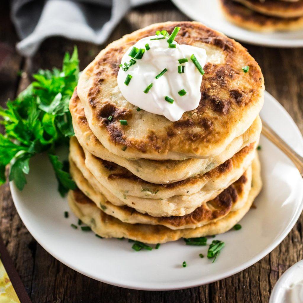 Olivia S Cuisine: Mashed Potato Pancakes