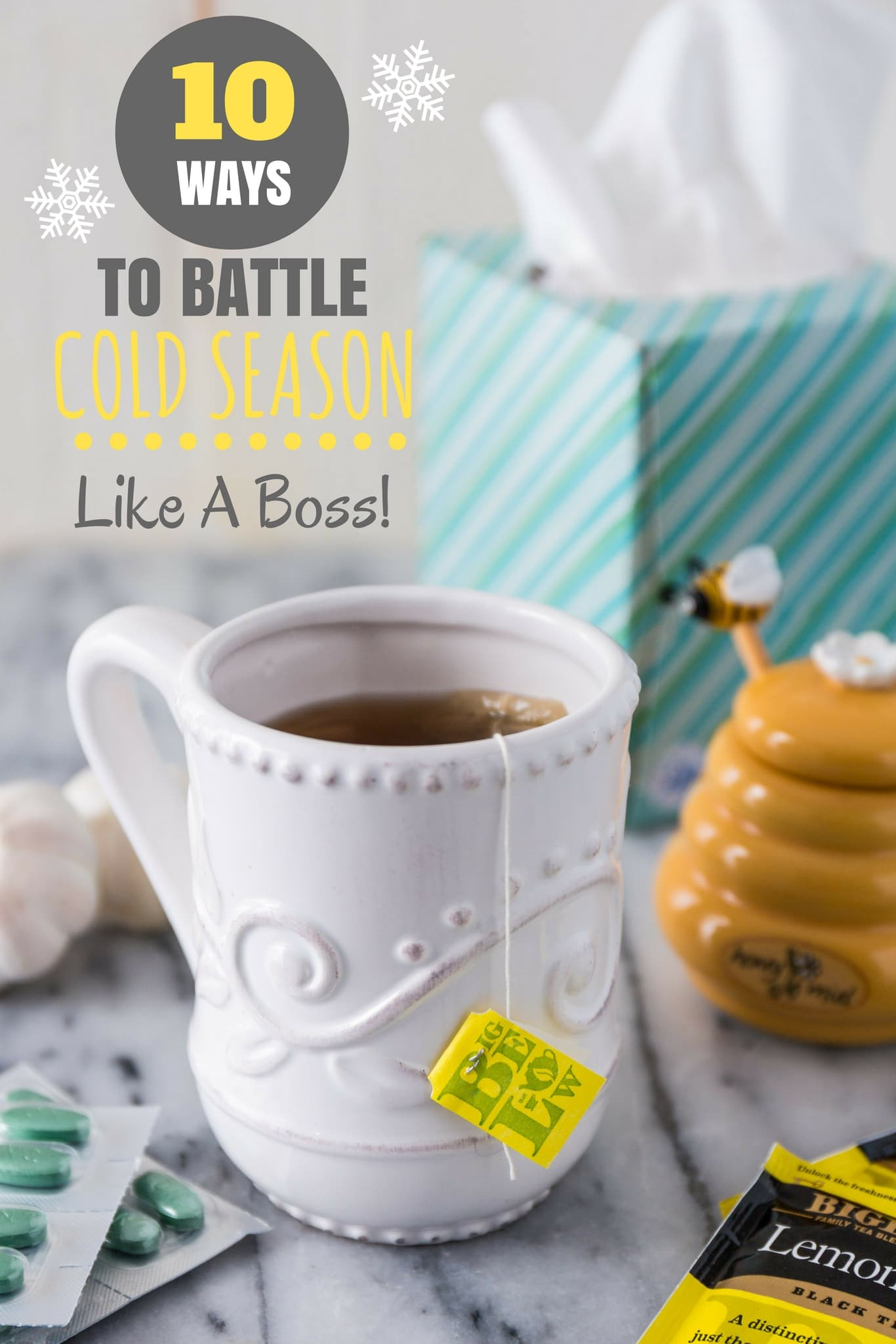 10 Ways To Battle Cold Season Like A Boss! | www.oliviascuisine.com | Cold season is here and it's only a matter of time until you have to deal with that annoying cold bug. But do not fret just yet! Just follow my tips and you will fight off this thing like a champ.