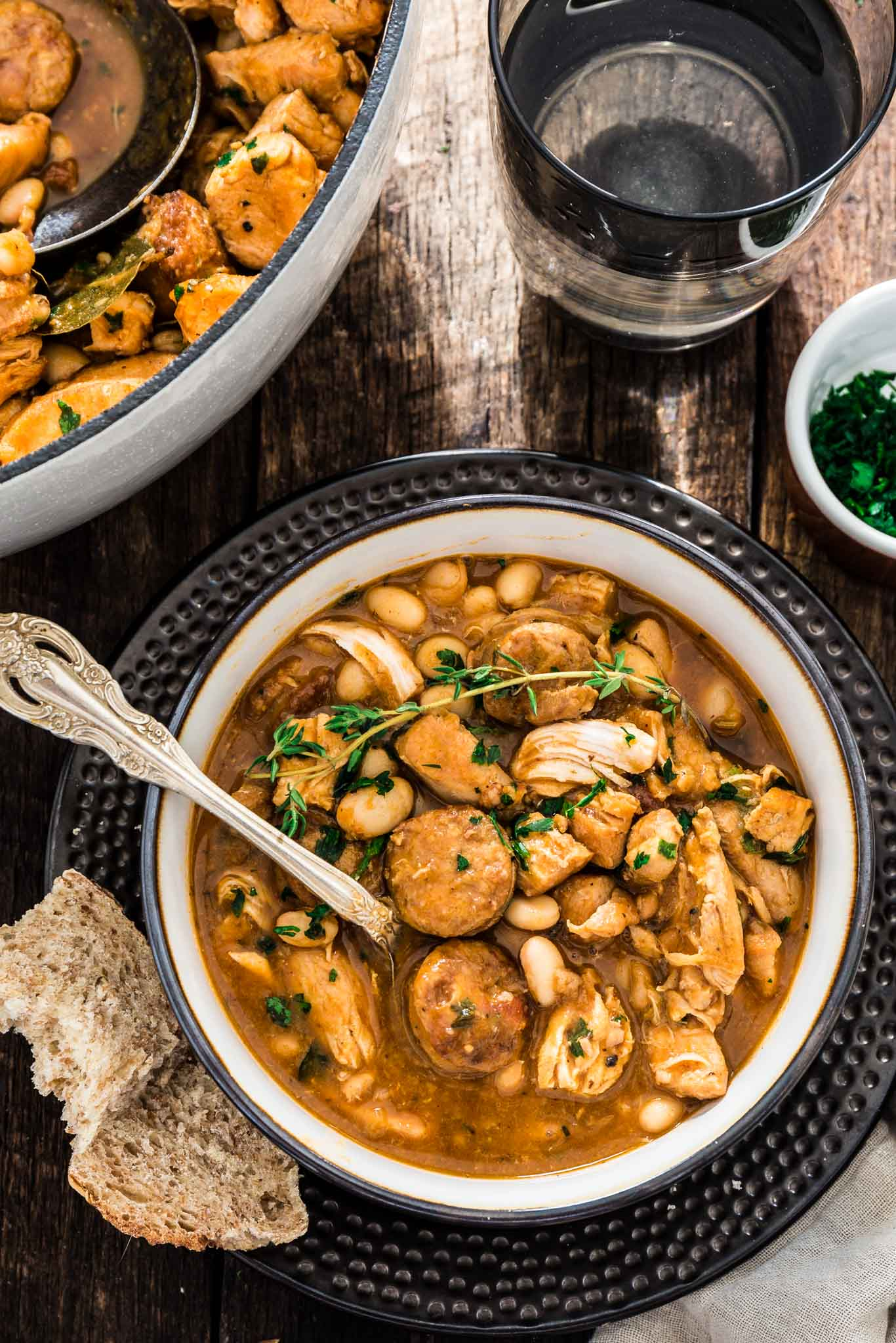 Brazilian Paprika Chicken Stew | www.oliviascuisine.com | A hearty and comforting Brazilian Paprika Chicken Stew is possibly one of the best ways to warm up this fall/winter. It is also very easy to make and done in one pot!
