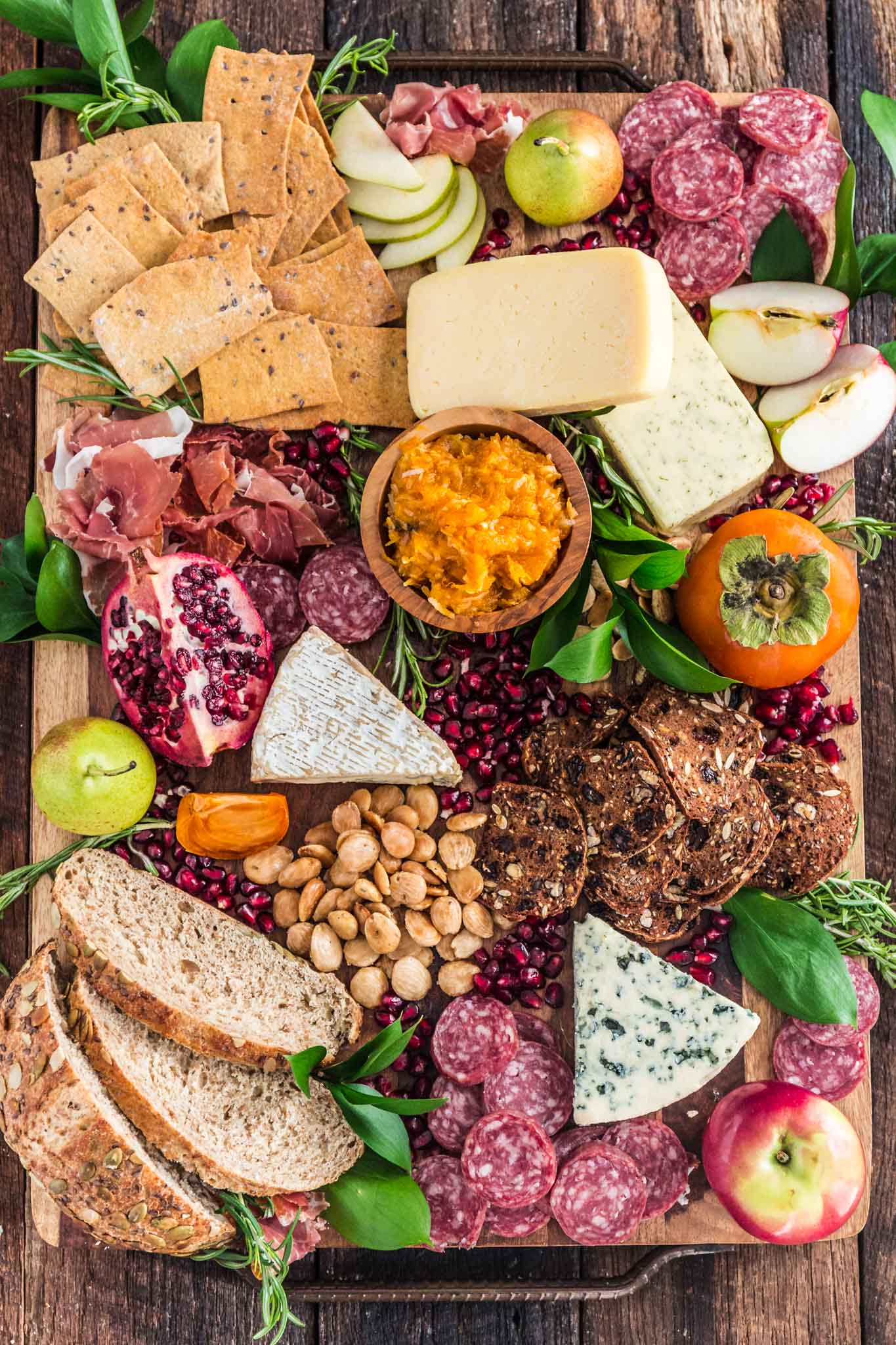 Christmas Cheese Board Ideas.Fall Harvest Cheese Board Olivia S Cuisine