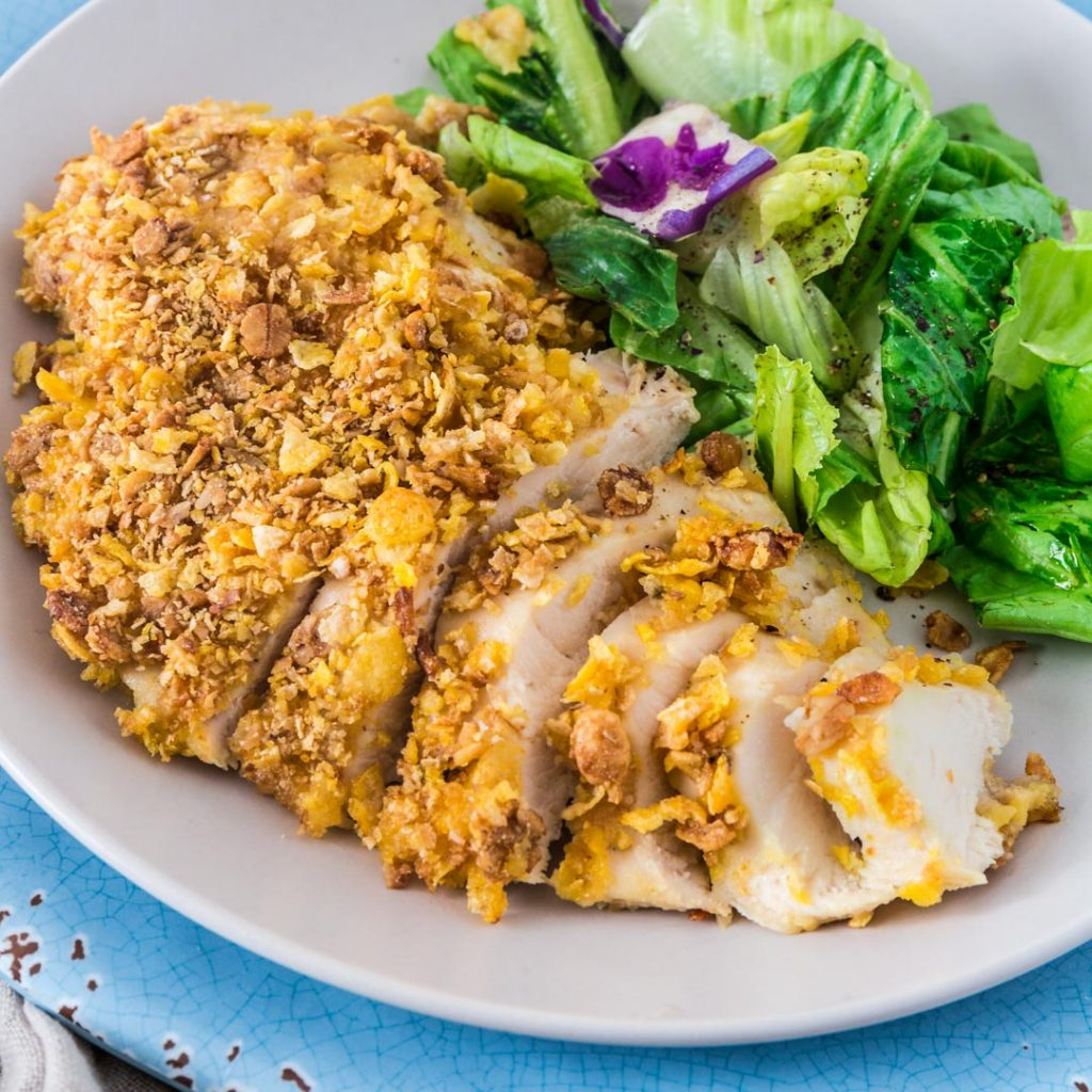 Olivia S Cuisine: Cereal Crusted Chicken