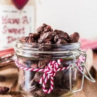 Spiced Chocolate Covered Almonds