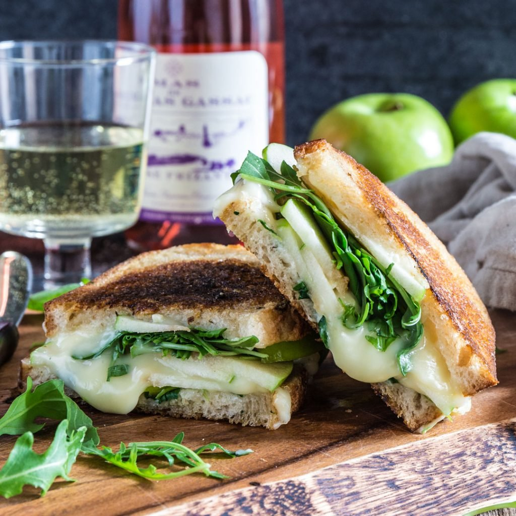 Olivia S Cuisine: Apple, Arugula And Brie Panini With Honey Butter
