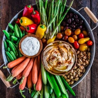 How to Assemble a Crudité Platter