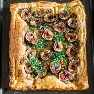 Blue Cheese Fig Tart