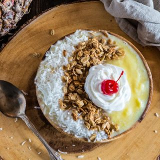 Pina Colada Smoothie Bowl