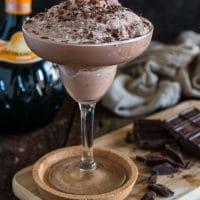 Frozen Chocolate Margarita