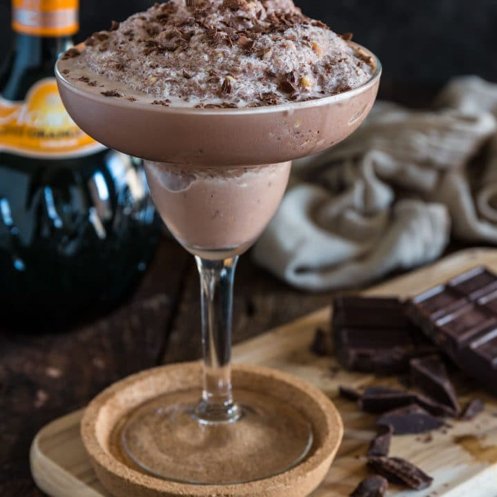 Frozen Chocolate Margarita