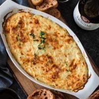 Roasted Garlic Baked Ricotta