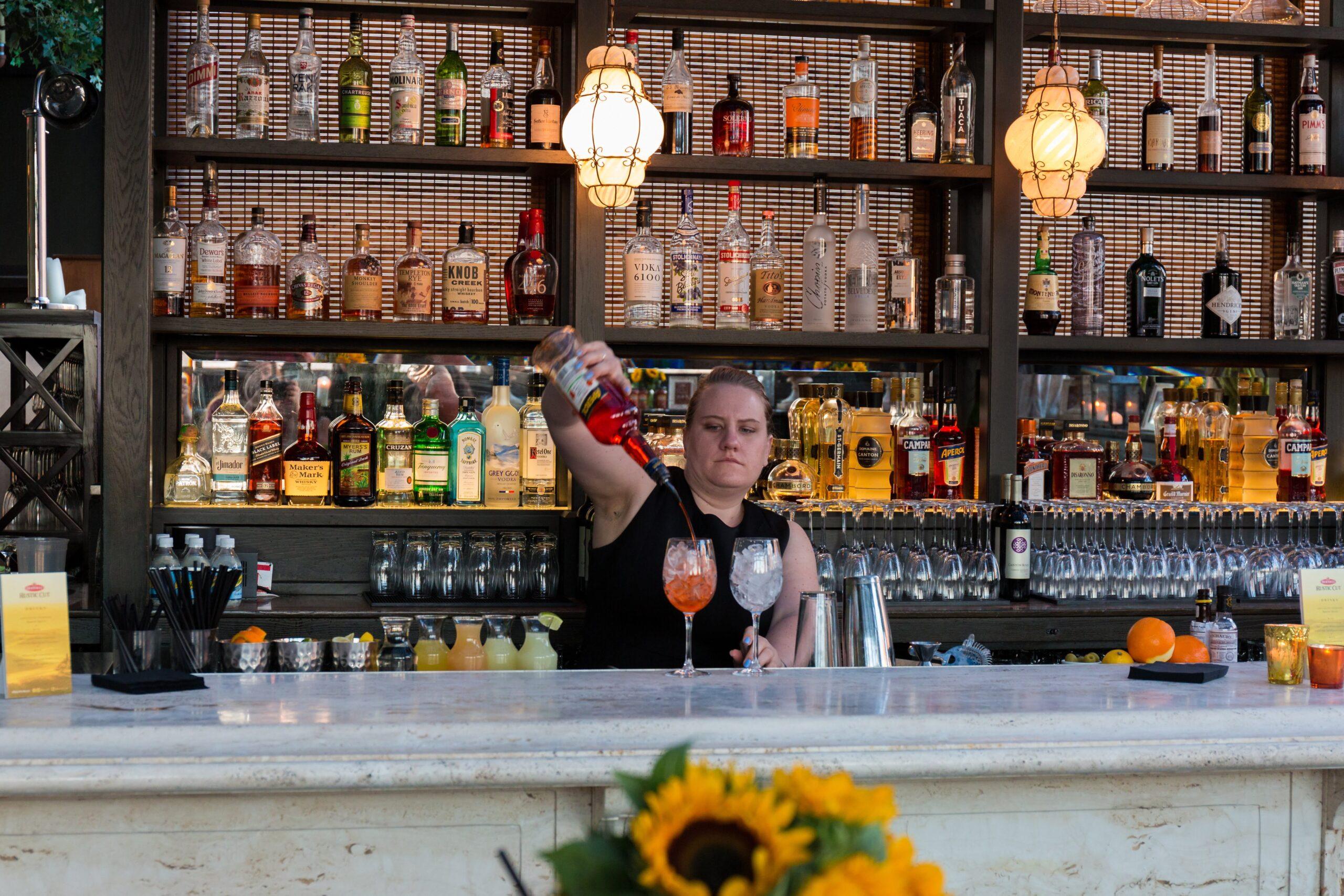 Bartender at Gramercy Park Hotel