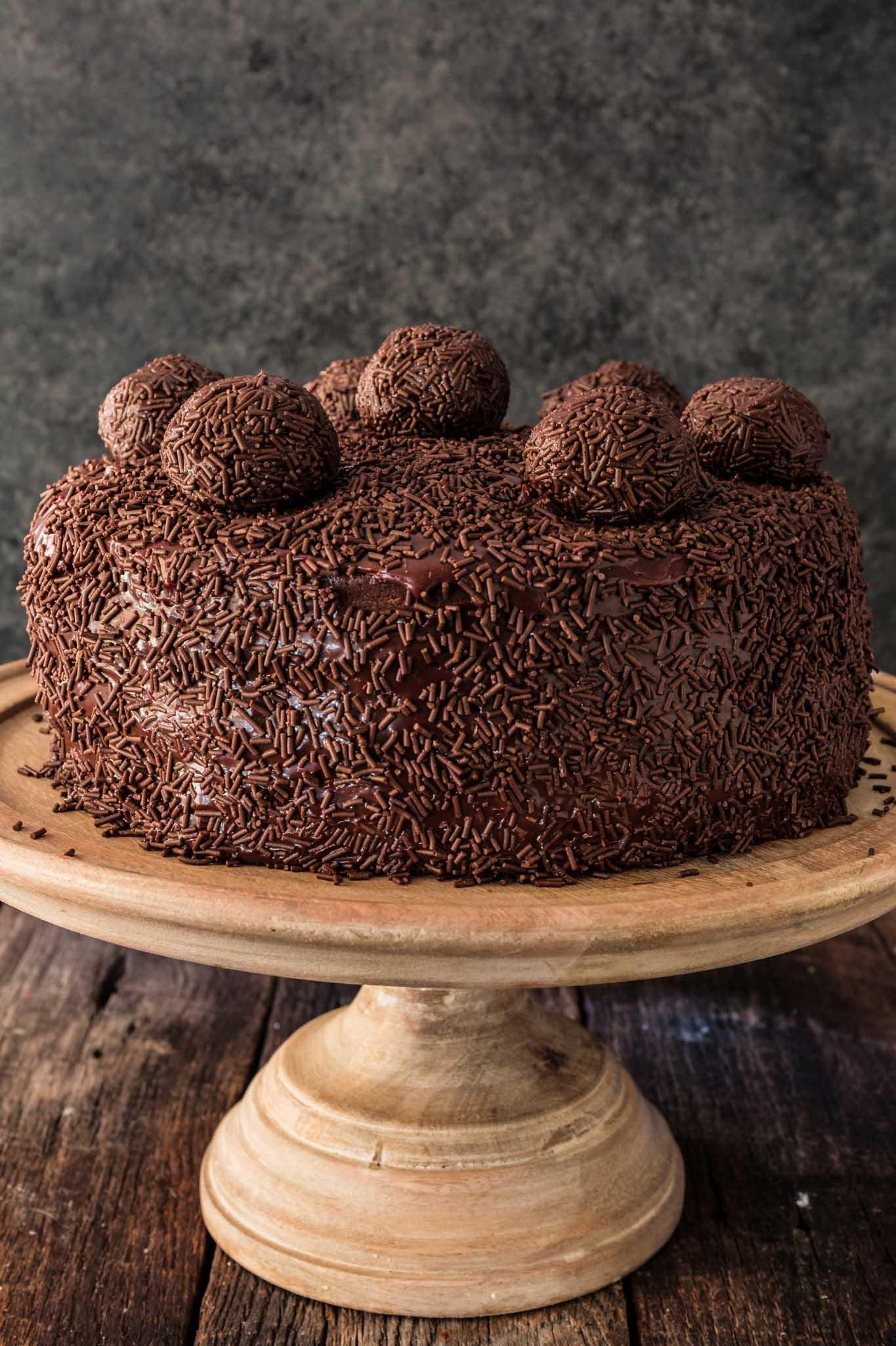 Brigadeiro Cake - Olivia's Cuisine