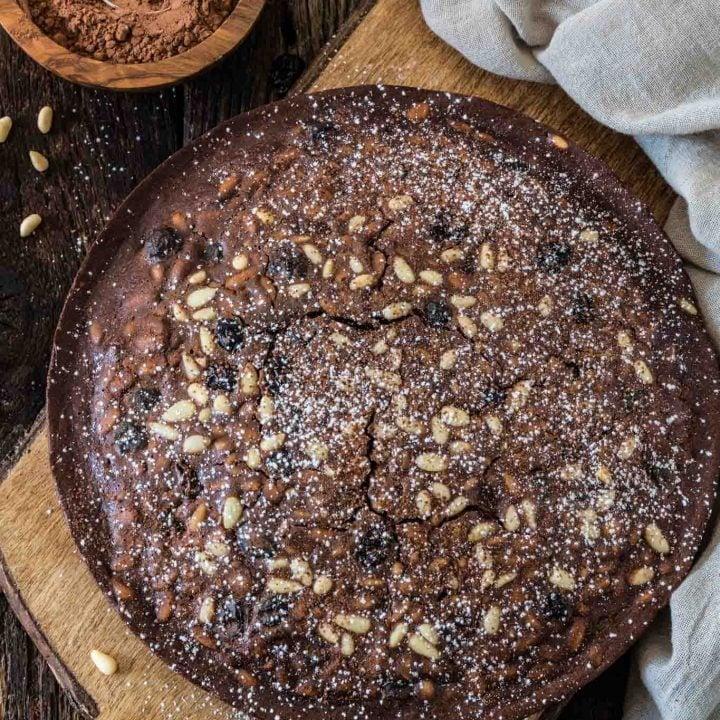 Castagnaccio Pugliese (Chestnut Flour Cake)