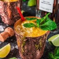 Fizzy Passion Fruit Cocktail