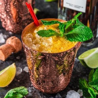 Fizzy Passion Fruit Cocktail