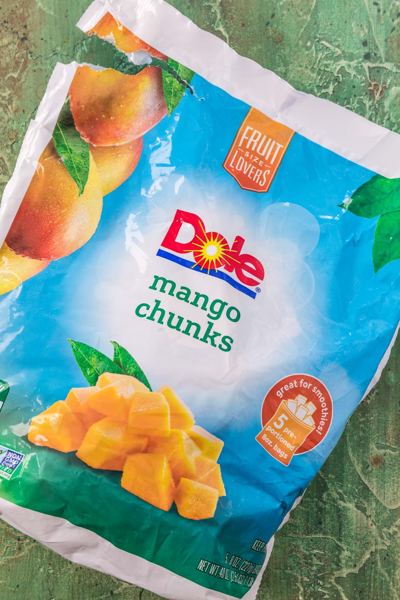 Dole frozen mango chunks