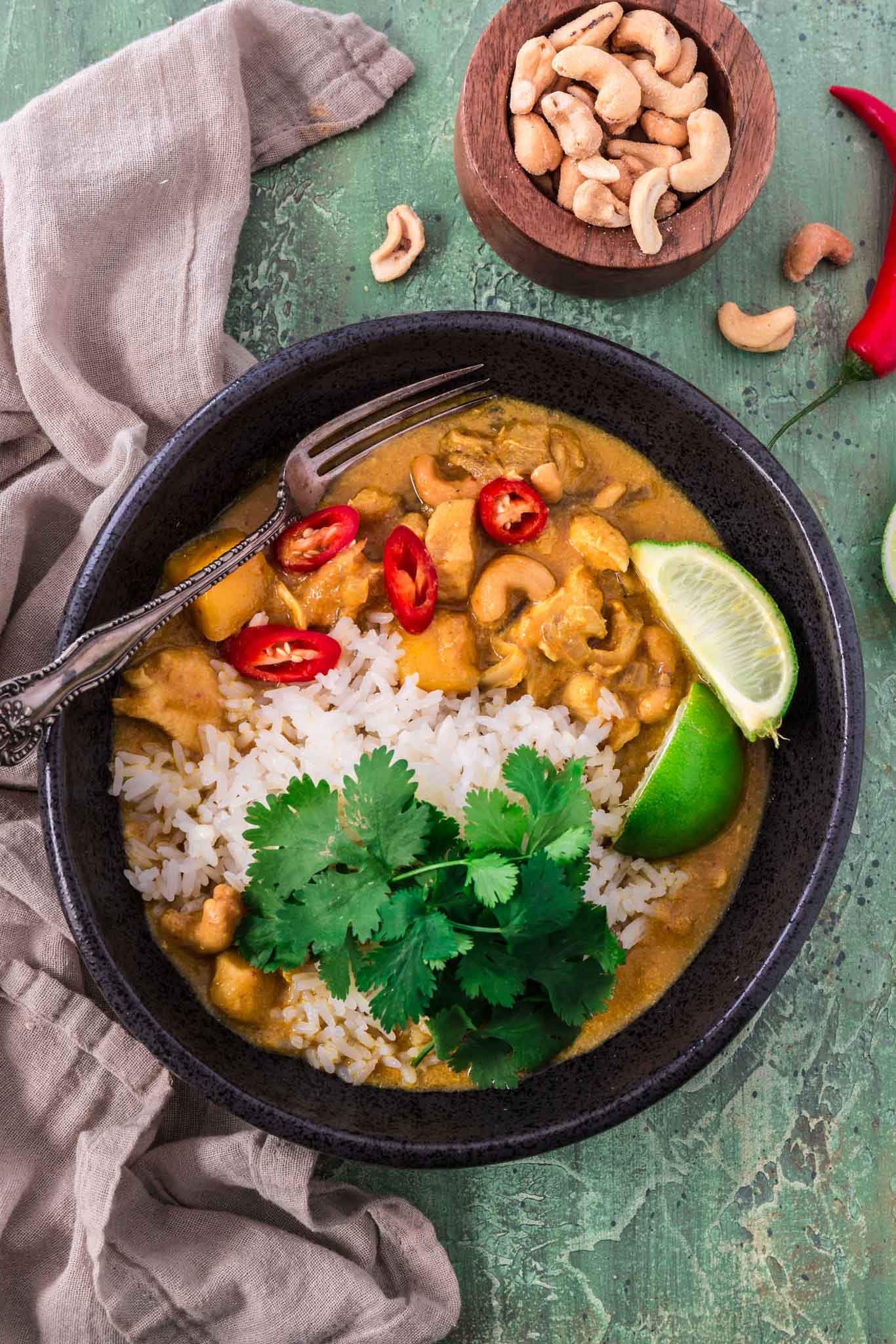 slow cooker chicken mango curry