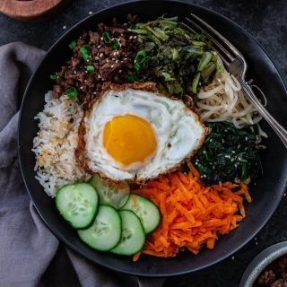 Bibimbap – Korean Beef Rice Bowl with Tanimura & Antle Artisan® Lettuce