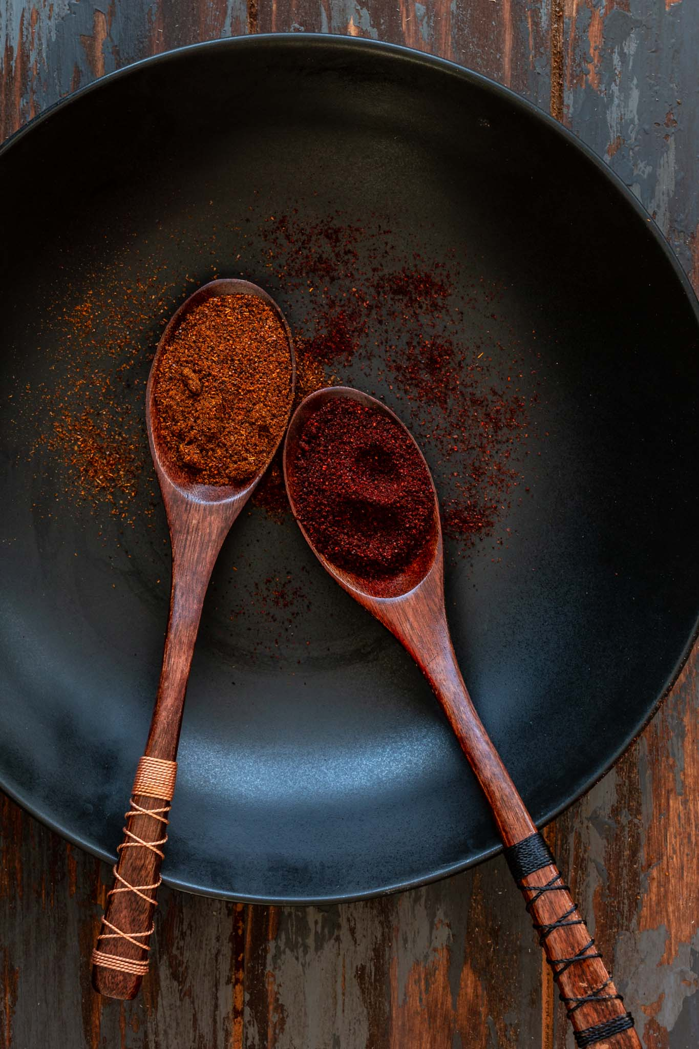 Chili Powder and Chipotle Powder