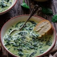 Cream of Spinach Soup