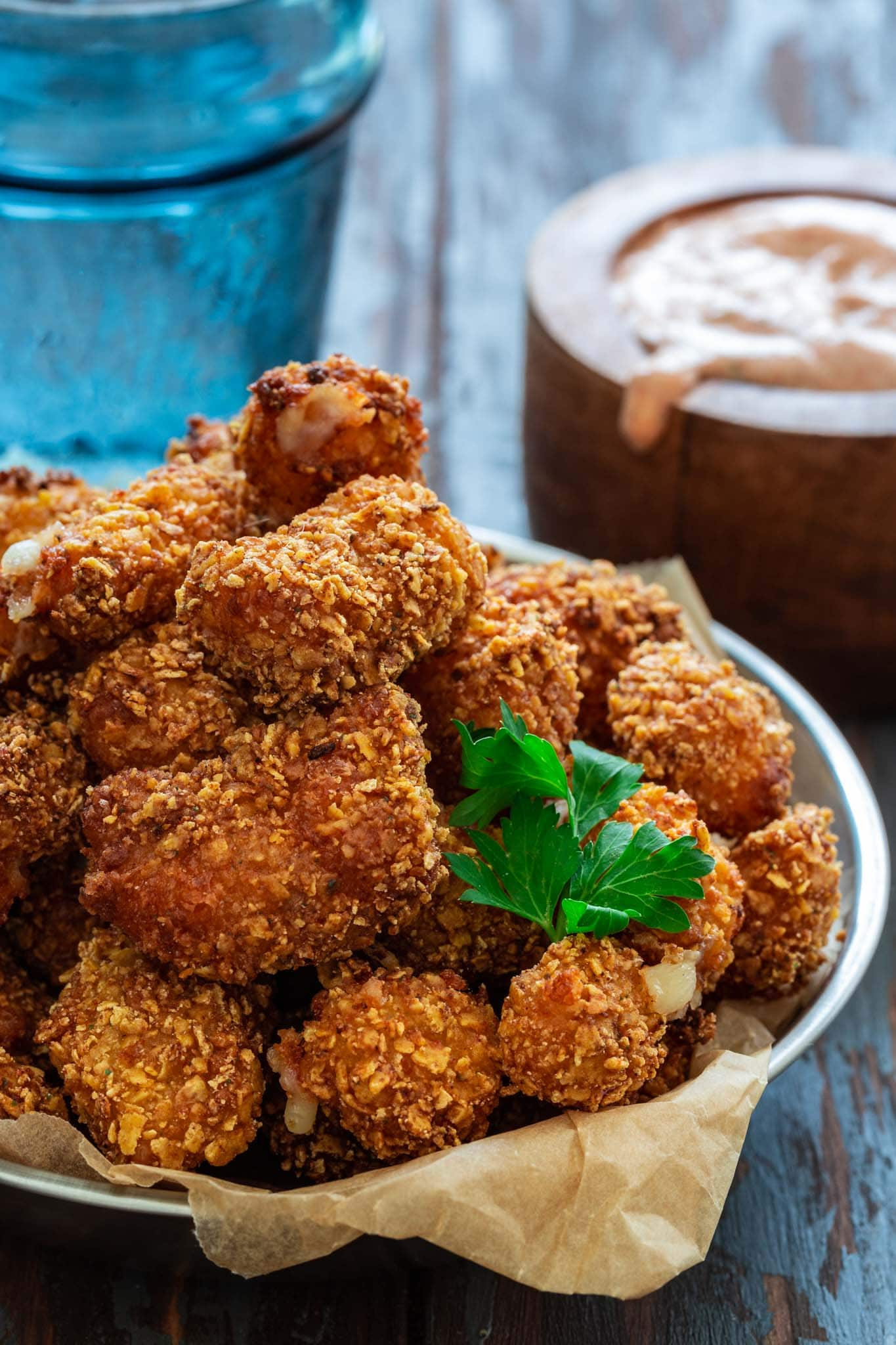 Fried Cheese Curds - Olivia's Cuisine