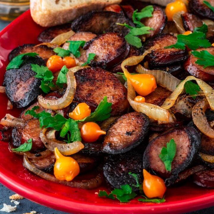 Linguiça Bêbada (Kielbasa Sausage Bites)