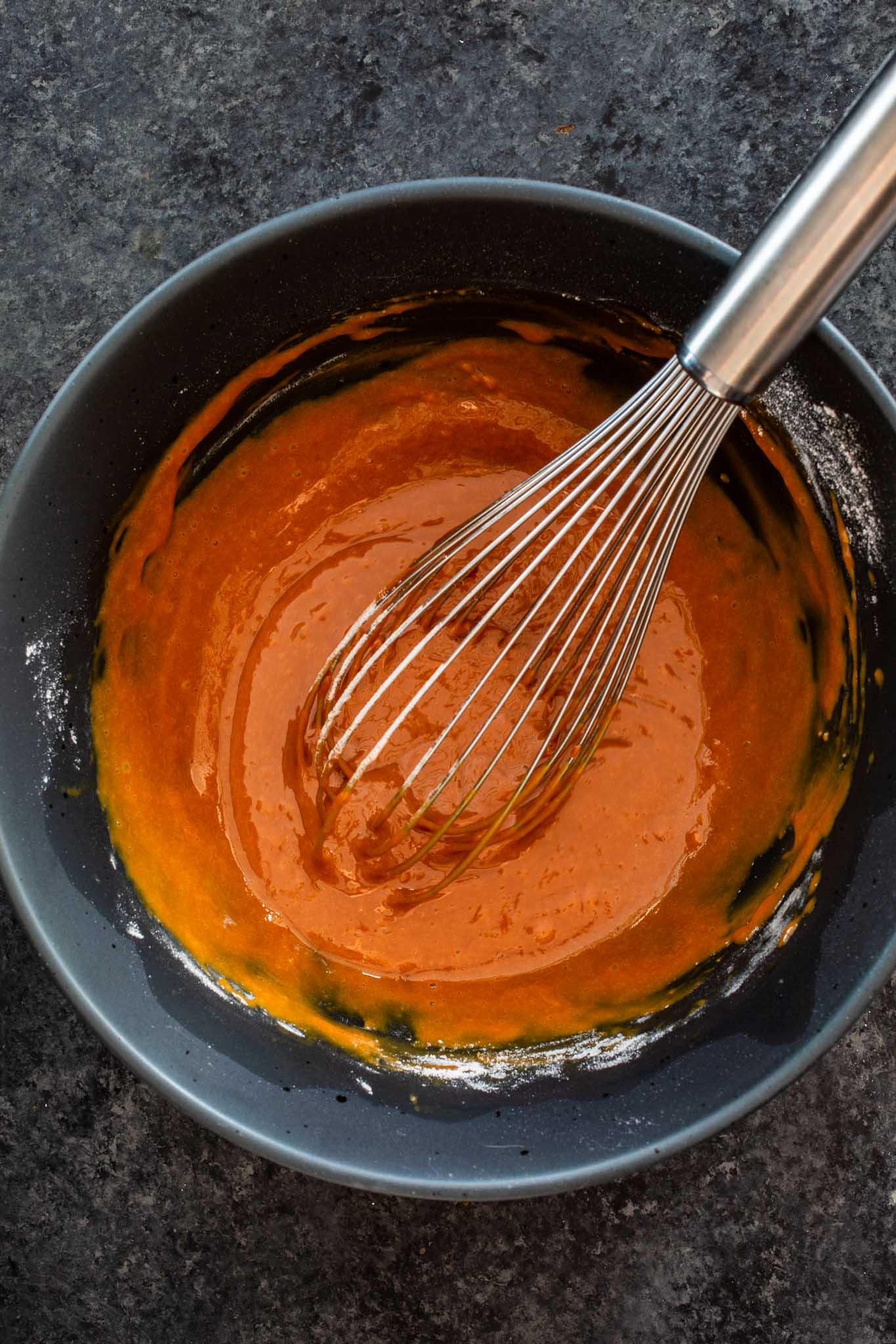 Dulce de Leche Lava Cakes Batter