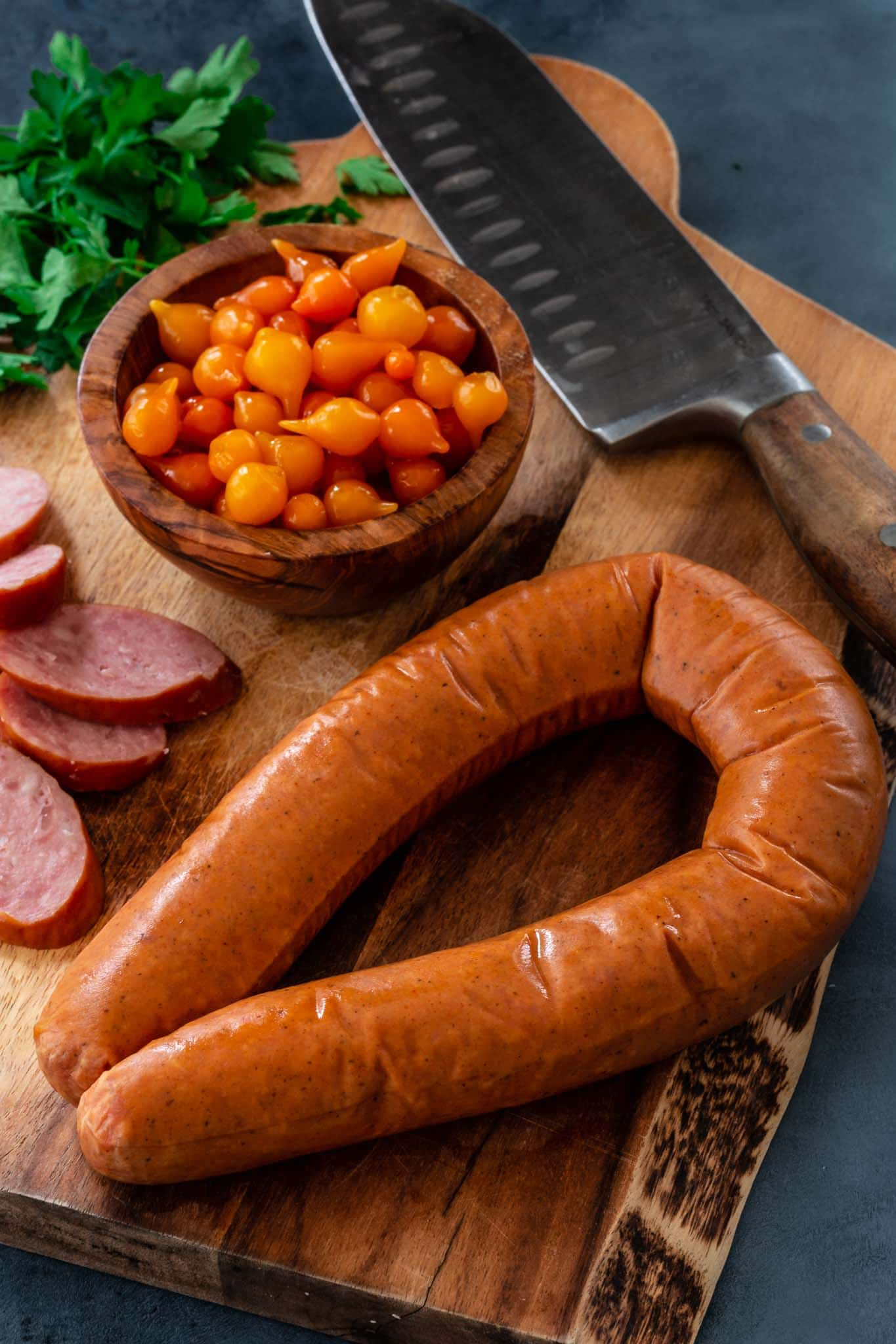 ingredients for kielbasa sausage bites